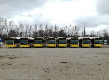 """""""Busturas"""" įsigijo daugiau dujinių autobusų"""