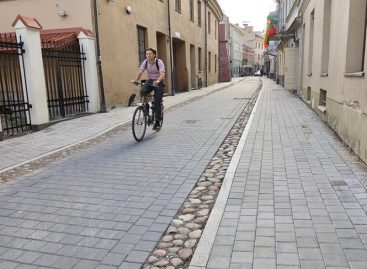 Savaitgaliais A. Savičiaus gatvė sostinėje vėl sugrąžinama pėstiesiems