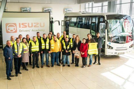 Autobusų vairuotojams – efektyvaus ir saugaus vairavimo mokymai