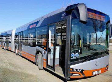 Vilniaus gatvėse – hibridinis autobusas