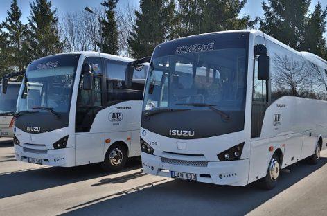 Ukmergiškiai įsigijo naujų autobusų