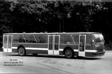 LAZ-360 – pirmasis sovietinis žemagrindis autobusas