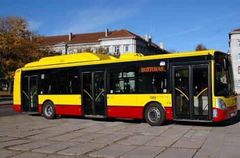 Nuo balandžio 10 d. Šiaulių miesto maršrutiniai autobusai gali važiuoti nereguliariai