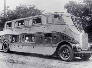 """""""Pickwick Nite Coach"""" – 1928-ųjų viešbutis ant ratų"""