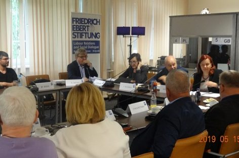 Profesinės sąjungos Varšuvoje – apie mobilumo paketą