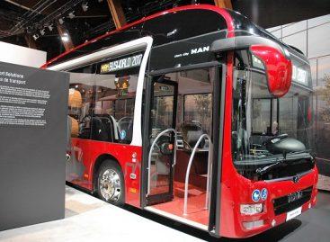 Į Lietuvą atvyko naujos kartos MAN hibridinio autobuso prototipas