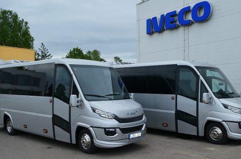 Lietuvoje – du išskirtiniai IVECO autobusai