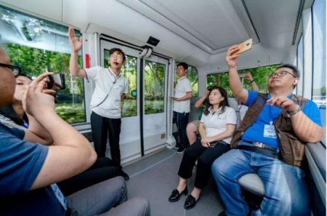 """""""Yutong"""" pristato 5G viešojo transporto projektą"""