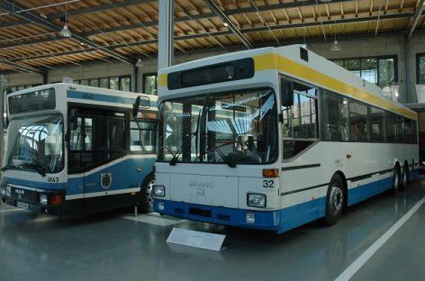 Vokietijos Miuncheno transporto muziejuje – gausybė unikalių eksponatų