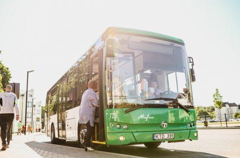 Alytiškiai įvertino viešąjį transportą