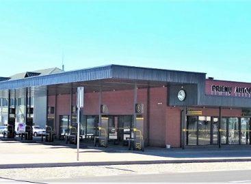Atidaroma nauja Prienų autobusų stotis