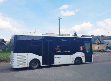 Trakuose vėl važinės maršrutinis miesto autobusas