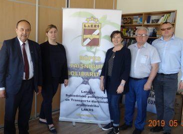 Rygoje – svarbus Baltijos transporto profsąjungų Fedeacijos susitikimas