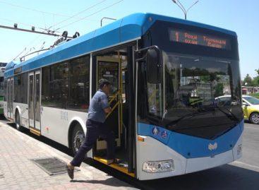 Dušanbėje – nauji troleibusai su autonomine eiga