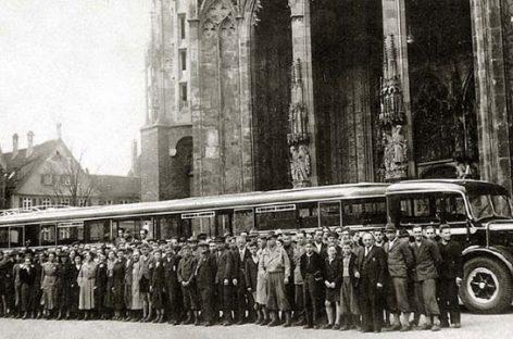 """Grossraum Sattelbus"" – 172 vietų gigantas"