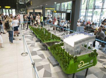 Autobusų stotyje pristatė ilgiausią Lietuvoje maketą