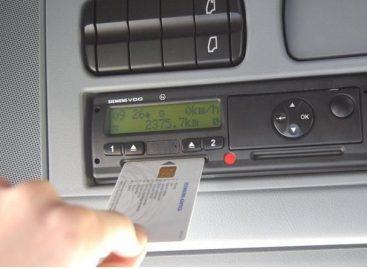Informacija dėl skaitmeninių tachografų kortelių išdavimo