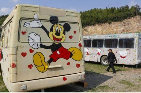 Senuose autobusuose – prabangūs viešbučiai