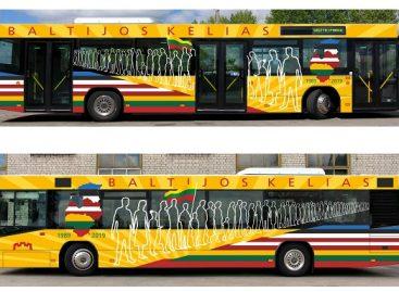 Po sostinę kursuos Baltijos keliui skirti autobusai