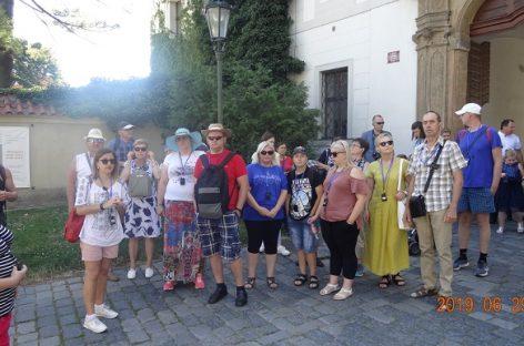 """Bendrovės """"Kauno autobusai"""" darbuotojai vyko į Čekiją"""