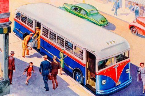 Vintažiniai autobusų konceptai