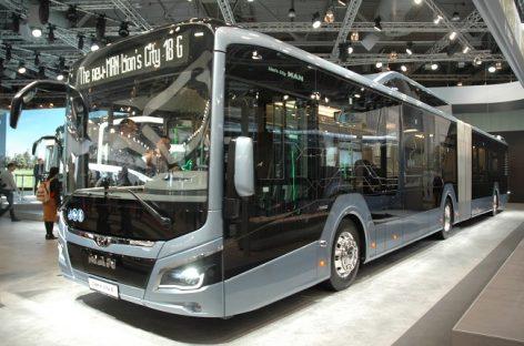 Sostinės vežėjai įsigis naujų autobusų