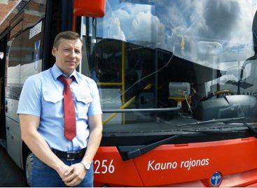 Autobuso vairuotojas R. Mažeika: netikėtos dovanos ir užaugusi keleivių karta