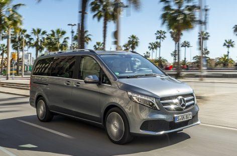 """Į Lietuvą atvyko naujasis keleivinių mikroautobusų """"Mercedes-Benz"""": V klasės modelis"""