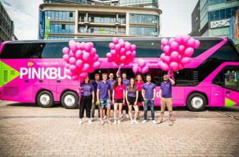 """Dar viena nauja tolimojo susisiekimo koncepcija – """"Pinkbus"""""""