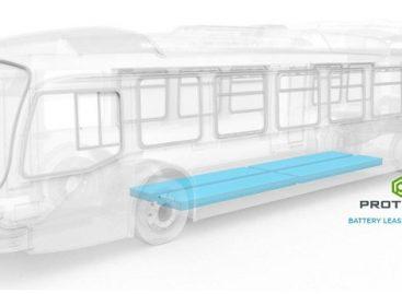 Baterijas elektriniams autobusams galima… išsinuomoti