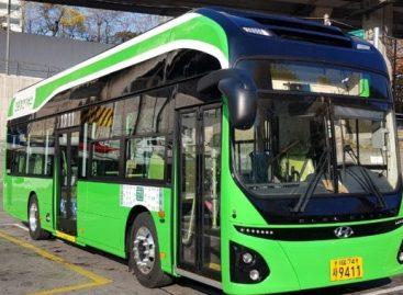 Pietų Korėja investuoja į elektrinius autobusus