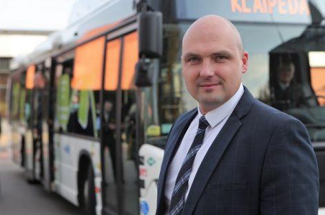 """""""Klaipėdos autobusų parkas"""" žengia į naujų paslaugų rinką"""