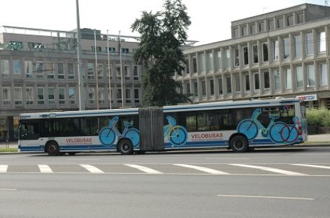 Sostinės viešajame transporte – naujovės dviratininkams ir paspirtukininkams