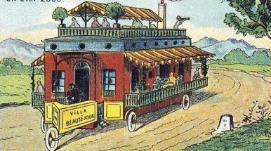 Ateities transportas: kaip 21-ojo amžiaus technologijas įsivaizdavo mūsų protėviai