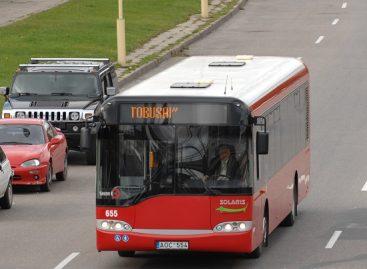 Minint Tarptautinę pagyvenusių žmonių dieną, nemokamas viešasis transportas senjorams Kaune
