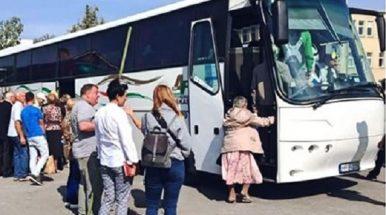"""Mažeikiškių autobusai – """"Baltijos kelyje"""""""