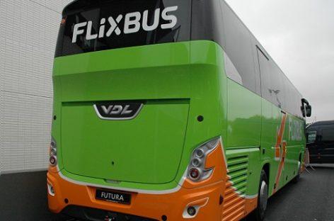 """""""Flixbus"""" išbando Kalifornijoje tolimojo susisiekimo elektrinius autobusus"""