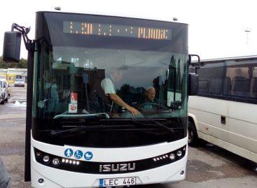 Plungiškiams – dar vienas naujas autobusas