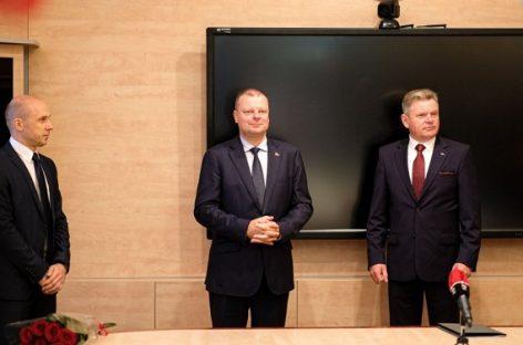 Susisiekimo ministerijoje darbą pradeda naujasis ministras Jaroslav Narkevič