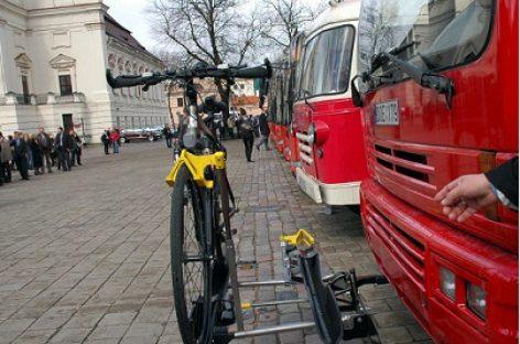 Dviračių vežimo Kauno viešuoju transportu tvarka