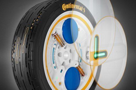 """""""Continental"""" sukūrė slėgį palaikančių padangų technologiją"""