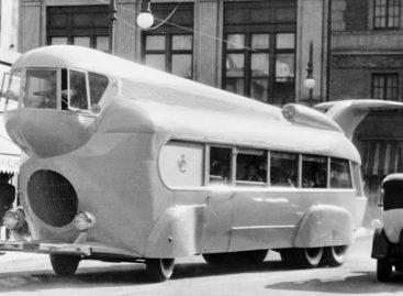 """Originalus autobusas, sukurtas """"Paramount"""" užsakymu"""