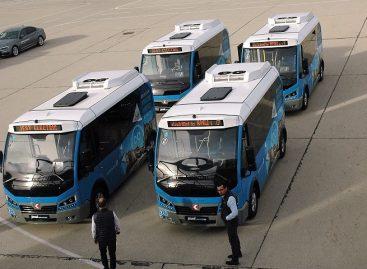 Sostinėje bus pristatyti pirmieji elektriniai autobusai