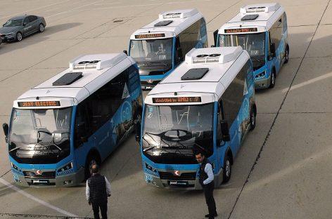 Vilniuje – masinis darniai mieste judančių žygis ir nauji elektriniai autobusai