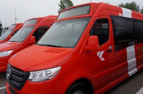 Į Kauno gatves išvažiavo nauji autobusai