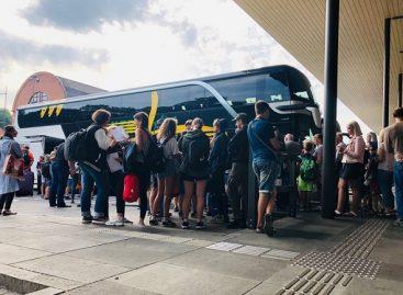 Tarp Kauno ir Vilniaus autobusais vežta daugiau keleivių