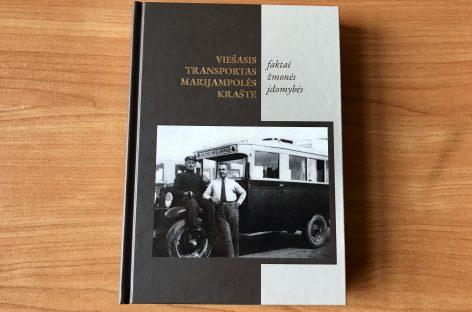 """Pristatyta knyga """"Marijampolės krašto viešasis transportas. Faktai, žmonės, įdomybės"""