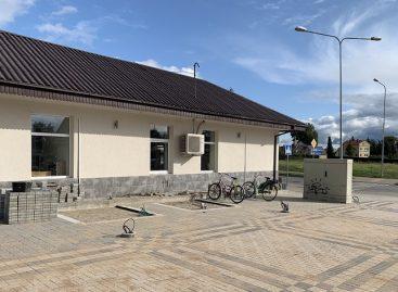 Atnaujinama Kuršėnų autobusų stotis