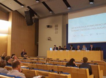 Seime diskutuota: ar reikalinga konkurencija teikiant viešąsias paslaugas?