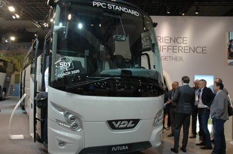 """VDL Bus & Coach"" stende ""Busworld Europe"" – novatoriški sprendimai"